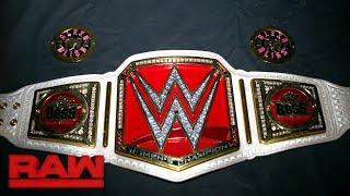 WWE Summerslam: Cambio de placas del campeonato de mujeres de RAW