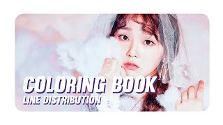 OH MY GIRL - COLORING BOOK (오마이걸)[LINE DISTRIBUTION]