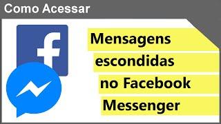 Mensagens secretas Facebook Messenger 🔵