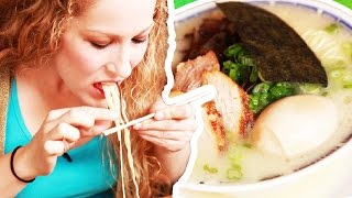People Try Ramen For The First Time
