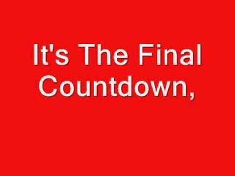 Europe The Final Countdown Lyrics Chords Chordify