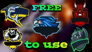 TOP 5 Free Gaming Logos without text( Pack 2)