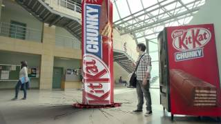 Kit Kat Chunky Commercial: Silence your hunger