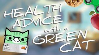 HEALTH ADVICE WITH A GREEN CAT | Geometry Dash Juniper