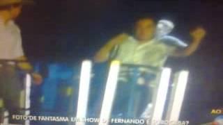Fantasma no show de Fernando e Sorocaba