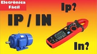 Máquinas Elétricas - Aula 12 - Medição de Corrente de Partida na Prática - IP/IN