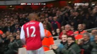 Thierry Henry - Return of the King (Arsenal vs Leeds)