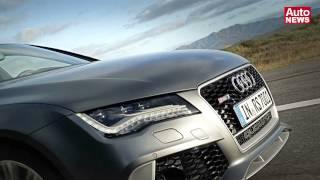 Audi RS 7 Sportback: Fünftürer-Coupé mit 560 PS