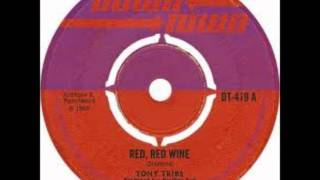 tony tribe - red red wine