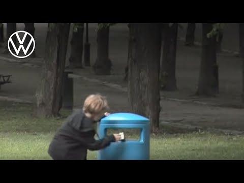 有趣的垃圾桶