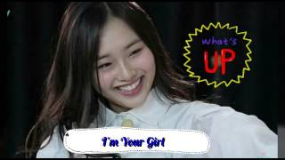 I'm Your Girl (Cover by Kriesha Chu)