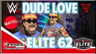 WWE FIGURE INSIDER: Dude Love - Mattel WWE Elite 62