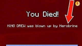 Minecraft Console Edition - HEROBRINE KILLED ME! -  (Xbox360/Ps3/PS4/XboxOne/WiiU)