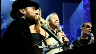 Celine Dion  Bee Gees   Immortality ( Live ) Legendado