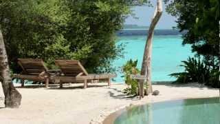 Soneva Fushi luxury hotel in the Maldives