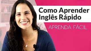 Como Aprender Inglês Rápido - Aprenda Fácil - Sara Scarcelli - Inglês 200h