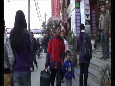 On the Streets of Kathmandu