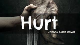 ► Hurt - Johnny Cash cover Lyrics Video (Logan) 中英字幕