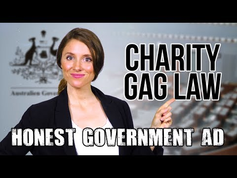 Honest Government Ad | Charity Gag Law