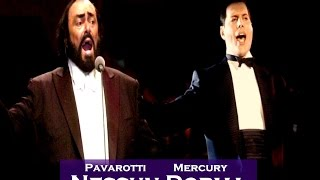 Mercury and Pavarotti Nessun Dorma