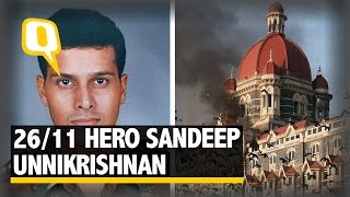 The Quint: Major Sandeep Unnikrishnan: The Story Behind the 26/11 Braveheart width=