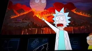Angel Vivaldi mentioned on Rick and Morty
