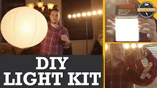 Quick Tips: DIY Lighting Kit!
