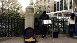 Man Down Rihanna  steel drum
