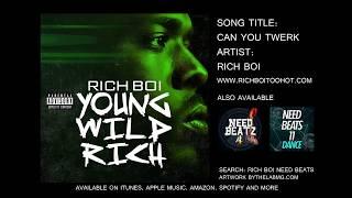 Can You Twerk - Clean Version - Rich Boi