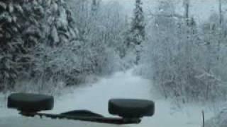 Snow Plow Cabin Road
