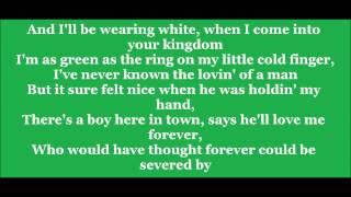 If I die Young Lyrics :)