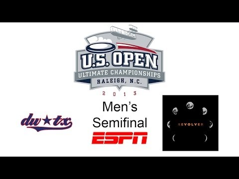 Video Thumbnail: 2013 U.S. Open Club Championships, Men's Semifinal: Austin Doublewide vs. San Francisco Revolver