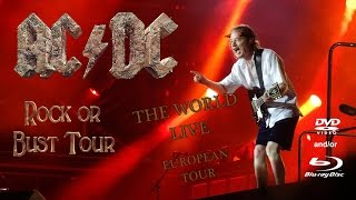 AC/DC THE WORLD LIVE (European Tour) (DVD/BluRay) Teaser