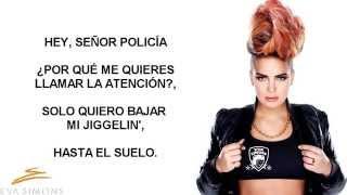 Eva Simons - Policeman (Letra en Español)