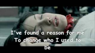 the reason - hoobastank lyrics RHR