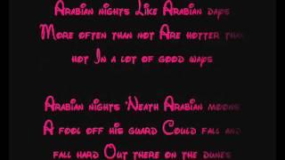 Arabian Nights - Aladdin Lyrics