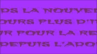 FLAW - Chroniqueur de l'ombre (Official lyrics video)