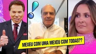 Dono da REDE TV manda RECADO para CLAUDIA LEITE!