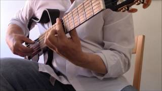 Bach on the Electro-Harmonix B9 Organ Machine - Allemande in E minor