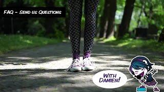 Anna Blue & Damien Dawn - Send Us Questions (CLOSED!)