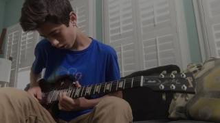 Queen- Bohemain Rhapsody Solo Cover by 14 year old