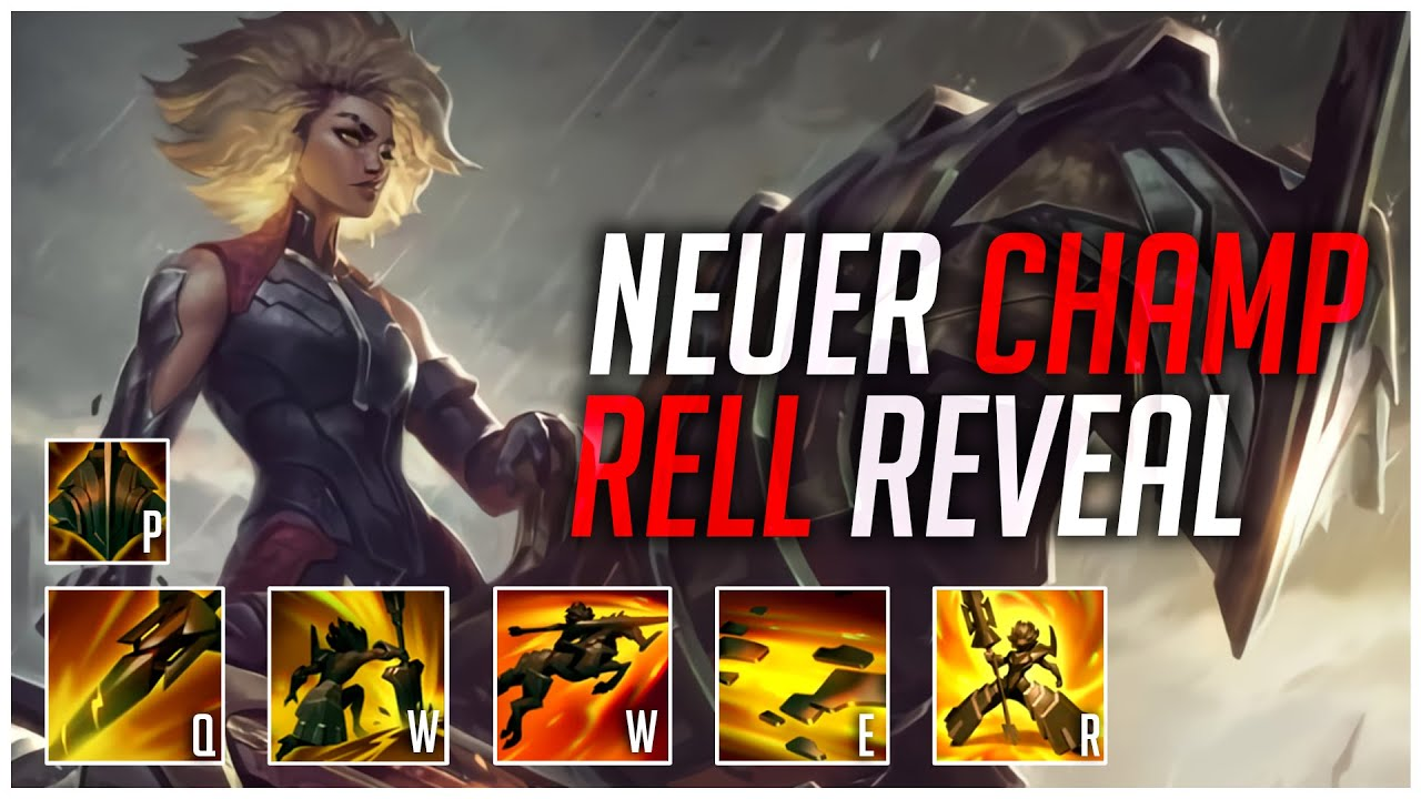 PlayersHUB - RELL CHAMPION REVEAL – TANKBUSTER HECARIM?! [League of Legends]
