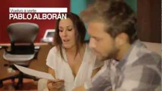 """Making off """"Vuelvo a verte"""" Malú & Pablo Alborán"""