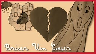 Briser Un Coeur - Ariane Moffatt (Collage Lyrics)
