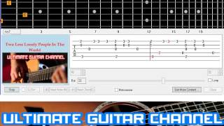 [Guitar Solo Tab] Two Less Lonely People In The World (Air Supply)