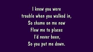 Taylor Swift - I Knew You Were Trouble Lyrics (HD)