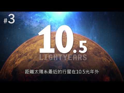 五顆宇宙中最奇怪的行星&人類能在火星上生存嗎『中文字幕』 - YouTube