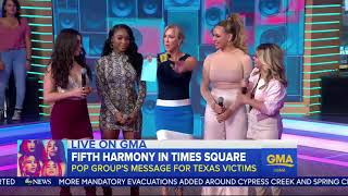 Fifth Harmony interview at GMAs