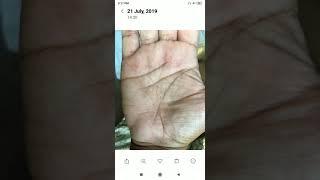 G. M. के पद से ऐक पद निचे क्यू आना पडा वो इनके हाथ पर दिख रहा हैं, hastrekha in hindi