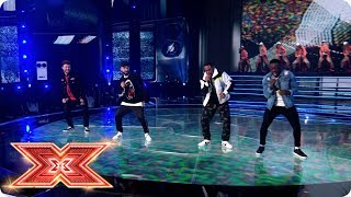 Rak-Su hope you'll be crazy about Mona Lisa | Live Shows | The X Factor 2017